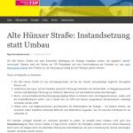 Screenshot der FDP Voerde - Seite vom 07.10.2019