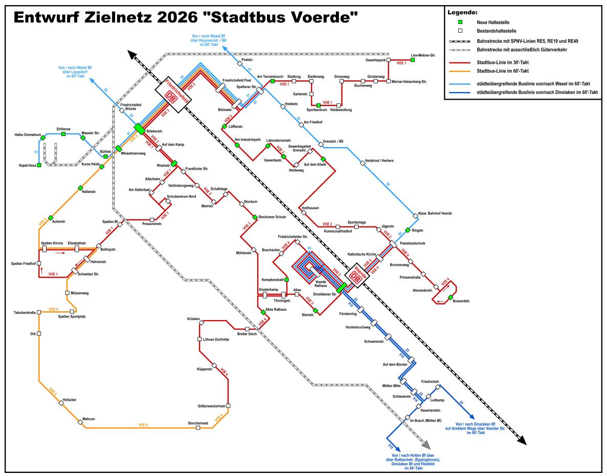 """Projekt 2026 – """"Stadtbus Voerde"""""""