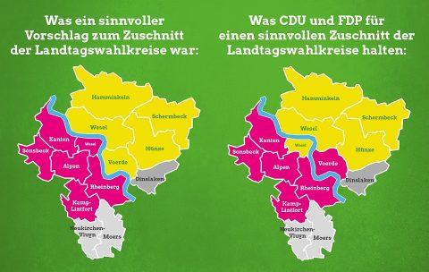 Kein Aprilscherz: Voerde jetzt linksrheinisch!