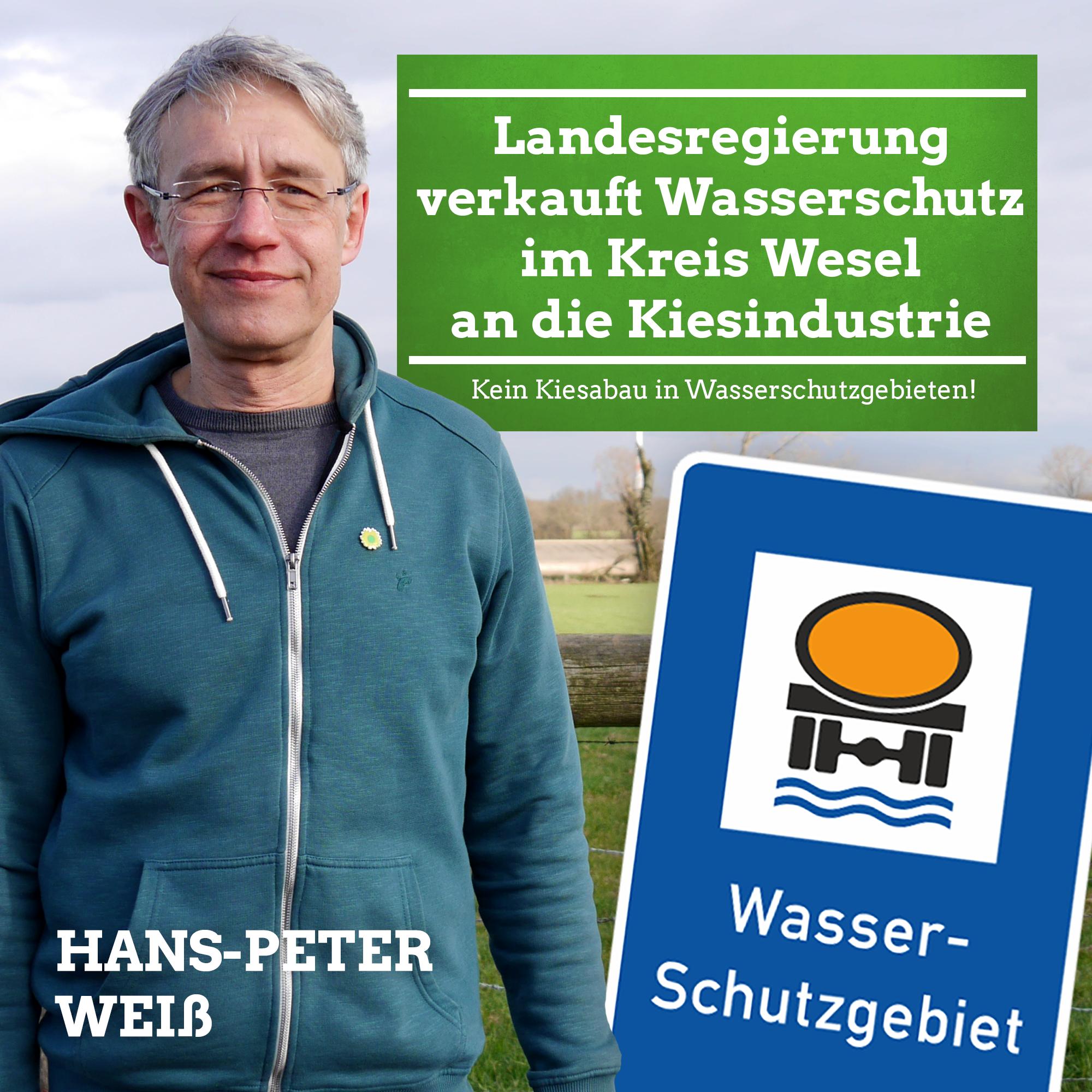 Landesregierung verkauft Wasserschutz im Kreis Wesel an die Kiesindustrie