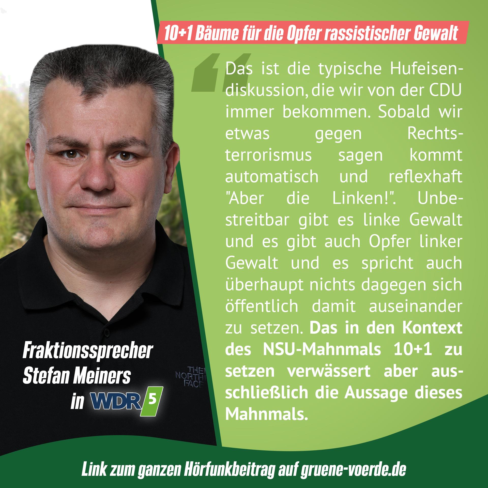 NSU-Mahnmal in Voerde – CDU und FDP stellen sich quer